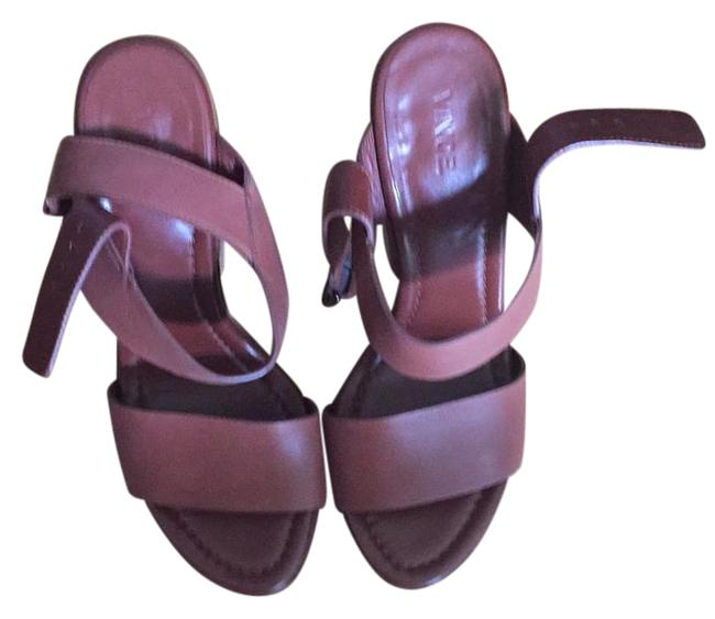 Vince Chunky Wedge Sandals Size US 9.5 Regular (M, B) Vince Chunky Wedge Sandals Size US 9.5 Regular (M, B) Image 1