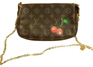 Louis Vuitton Pochette Cherries Limited Edition Cross Body Bag