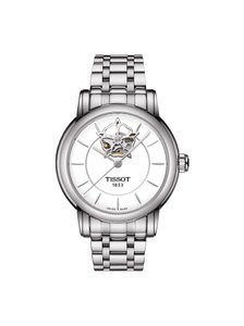 Tissot Lady Heart Automatic White Dial Stainless Steel Ladies Watch
