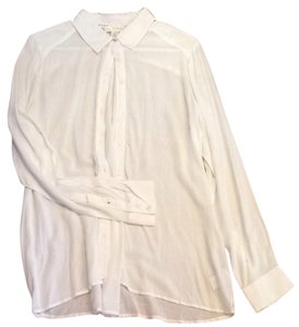 Kenar Chambray Button Down Shirt White