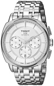 Tissot T-Lord Automatic Chronograph Stainless Steel Men's Watch