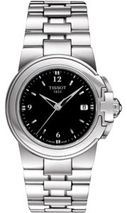 Tissot Sport-T Lady Quartz Black Dial Ladies Watch
