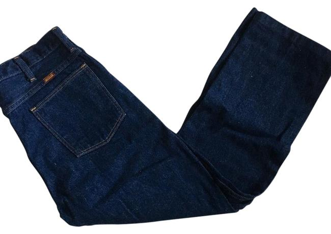 Preload https://img-static.tradesy.com/item/21913060/blue-dark-rinse-vintage-wash-boot-cut-jeans-size-32-8-m-0-1-650-650.jpg
