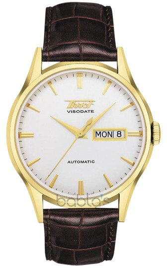 Preload https://img-static.tradesy.com/item/21913141/tissot-visodate-white-dial-brown-leather-men-s-watch-0-1-540-540.jpg