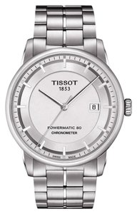 Tissot Luxury Automatic Silver Dial Men's Watch