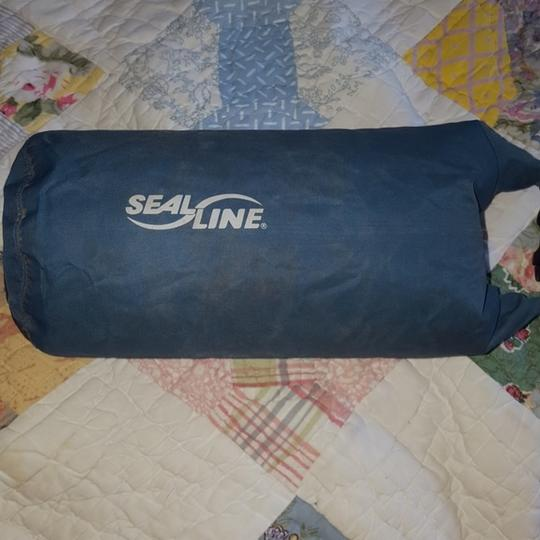 Seal Line Water-resistant Blue, Gray Travel Bag