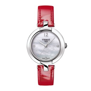 Tissot T-Trend Pinky Mother of Pearl Dial Ladies Watch