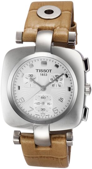 Tissot Odaci-T Chronograph Silver Dial Ladies Watch T0203171603700