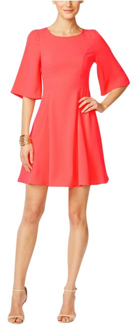Preload https://img-static.tradesy.com/item/21913239/cece-by-cynthia-steffe-coral-flutter-sleeve-a-line-short-workoffice-dress-size-10-m-0-1-650-650.jpg