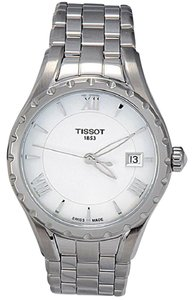 Tissot T-Lady Mother of Pearl Dial Stainless Steel Ladies Watch