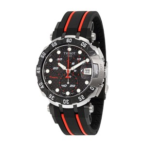 Tissot T-Race MotoGP 2015 Automatic Anthracite Dial Black and Red Rubber Band