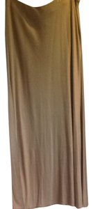 Ralph Lauren Black Label Full Length Skirt Nude / Caramel