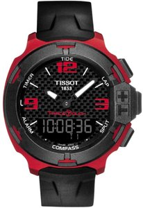 Tissot T-Race Touch Red Aluminium Men's Sports Watch
