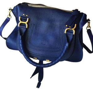 Chlo Tote in Storm Blue