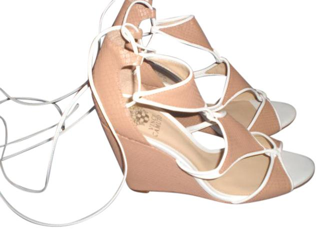 Vince Camuto Tan Maria Wedges Size US 8.5 Regular (M, B) Vince Camuto Tan Maria Wedges Size US 8.5 Regular (M, B) Image 1