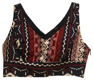 Forever 21 Top navy, red, white