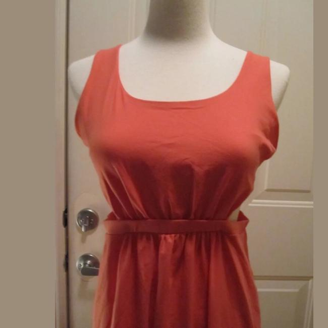 Susana Monaco short dress coral on Tradesy