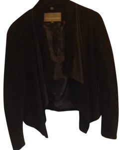 Bod & Christensen Leather Suede Black Jacket
