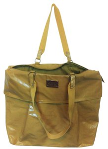 Kenneth Cole Reaction Pvc Canvas Tote in Yellow