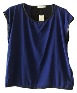 Arden B. Top Black/Blue