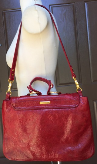 Rebecca Minkoff Handbag Detachable Strap Top Handle 13.5