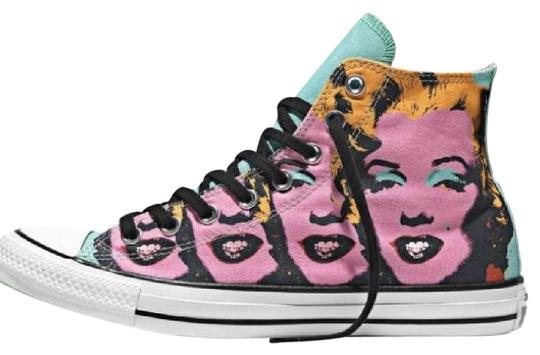 0a1d3bfbb5bf Converse Limited Edition All Stars Andy Warhol Marilyn Monroe Multi  Athletic Image 0 ...