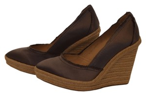 Pedro Garcia Dark Gray Wedges
