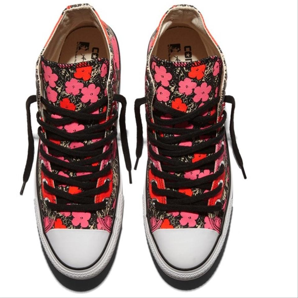 2735cdafc0b707 Converse Red   Fuchsia   White Chuck Taylor All Star Andy Warhol ...