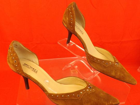 Michael Kors Brown Pumps