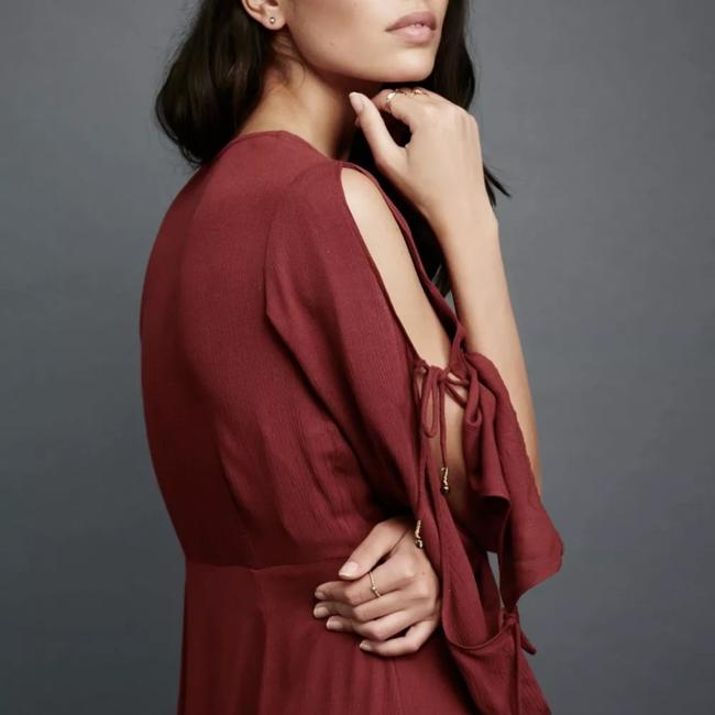 burgundy Maxi Dress by Free People