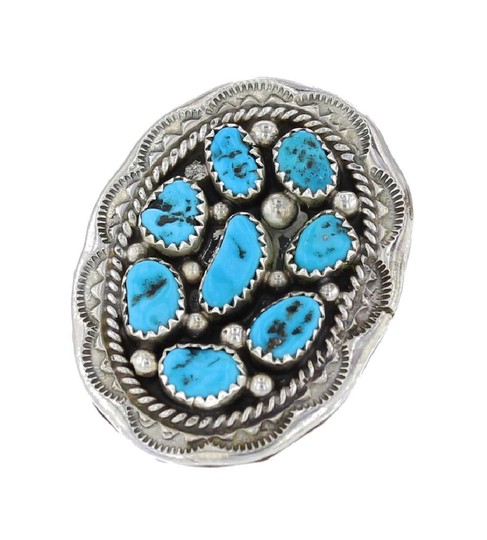 Preload https://img-static.tradesy.com/item/21914423/turquoise-and-silver-sterling-cluster-vintage-signed-m-ring-0-0-540-540.jpg