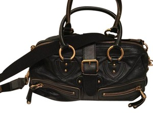 Marc Jacob Satchel in Black Leather