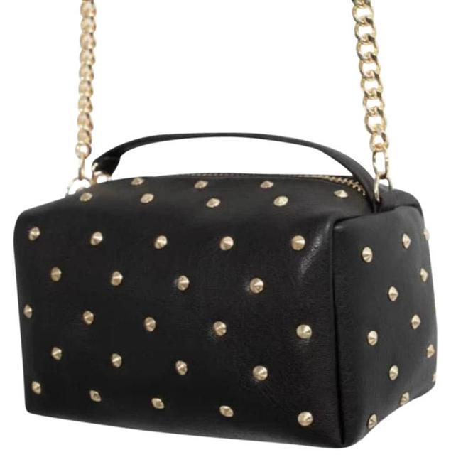 Zara Black and Gold. Shoulder Bag Zara Black and Gold. Shoulder Bag Image 1