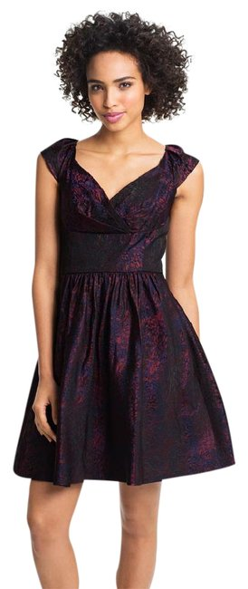 Preload https://img-static.tradesy.com/item/21914599/suzi-chin-for-maggy-boutique-multicolor-new-brocade-fit-and-flare-short-cocktail-dress-size-10-m-0-1-650-650.jpg