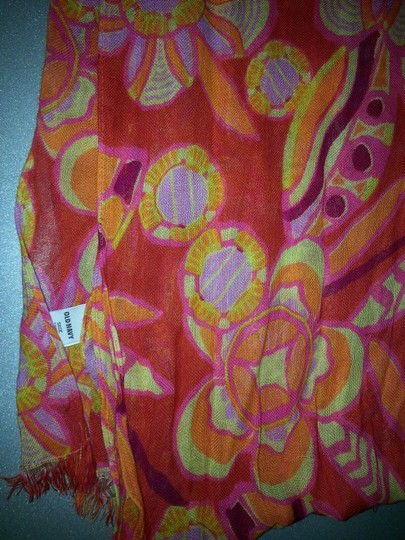 Old Navy Coral, Pink Rose Scarf, Old Navy Soft Cool Rayon fabric