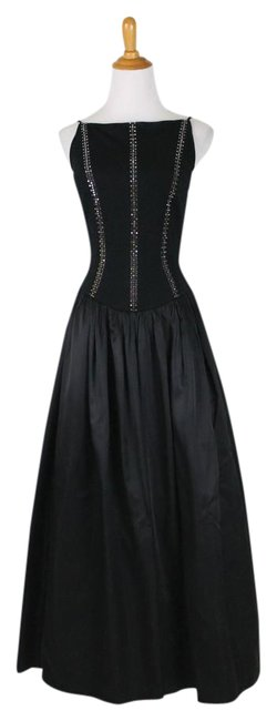 Preload https://img-static.tradesy.com/item/21914833/cache-black-ballgown-long-formal-dress-size-petite-4-s-0-1-650-650.jpg