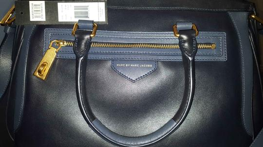 Marc by Marc Jacobs One Scratch On Strap Gold Tone Shoulder Bag