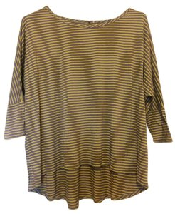 Modcloth Loose Fit Casual Stripes Tunic