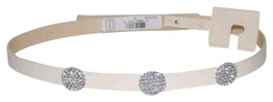 Kate Spade Studded jeweled genuine leather waist belt size L