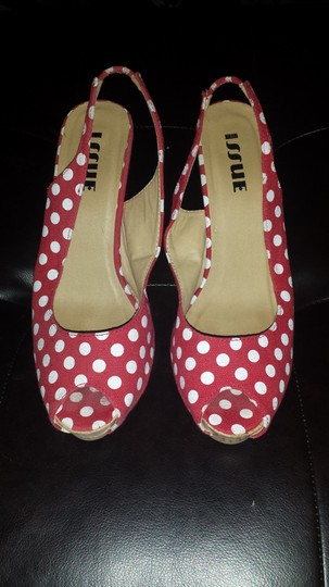 Other Red & White Pumps