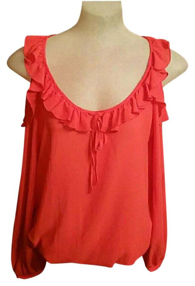 e53652dd8e9 Red Spense Tops - Up to 70% off a Tradesy
