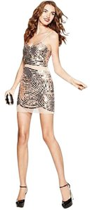 Basix Black Label Glitter Sparkle Sequin Dress