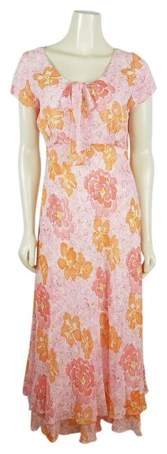 Preload https://img-static.tradesy.com/item/21915549/talbots-pink-orange-and-yellow-cap-sleeved-floral-light-colors-long-casual-maxi-dress-size-8-m-0-1-650-650.jpg
