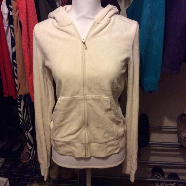 Juicy Couture Thin Hooded Winter white Jacket