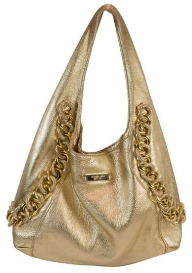 Preload https://img-static.tradesy.com/item/21915834/michael-michael-kors-id-chain-style-shoulder-metallic-gold-leather-hobo-bag-0-1-540-540.jpg
