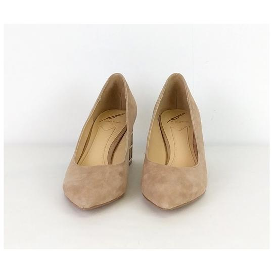 Brian Atwood Suede Tan Pumps