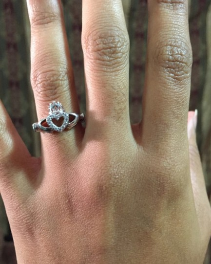 Other ** NWT ** CLADDAGH STERLING SILVER RING