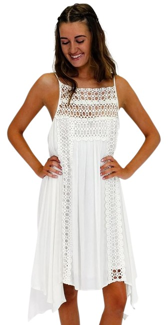 Preload https://img-static.tradesy.com/item/21916071/ark-and-co-white-lace-appreciation-mid-length-short-casual-dress-size-12-l-0-1-650-650.jpg