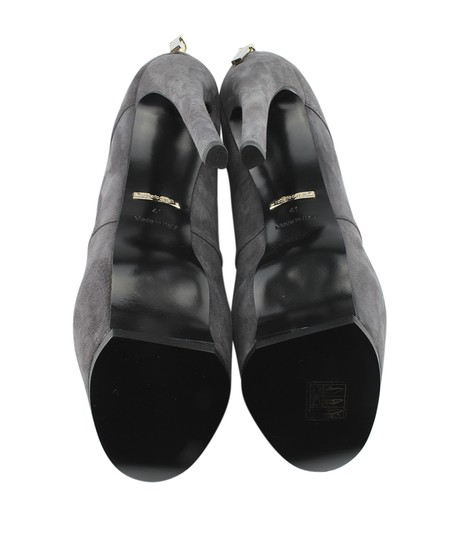 Roberto Cavalli Ankle Suede Grey Boots