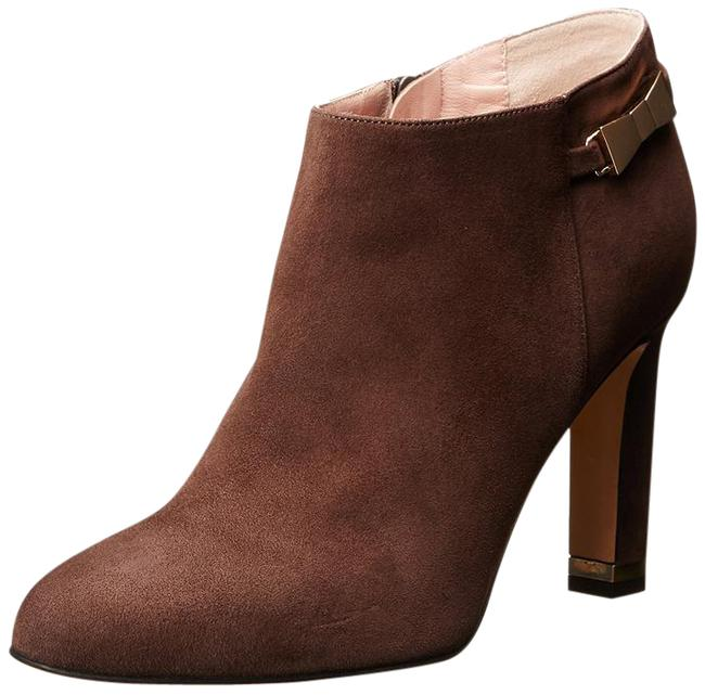 Kate Spade Brown Aldaz Suede Bow-buckle Ankle Boots/Booties Size US 9.5 Regular (M, B) Kate Spade Brown Aldaz Suede Bow-buckle Ankle Boots/Booties Size US 9.5 Regular (M, B) Image 1